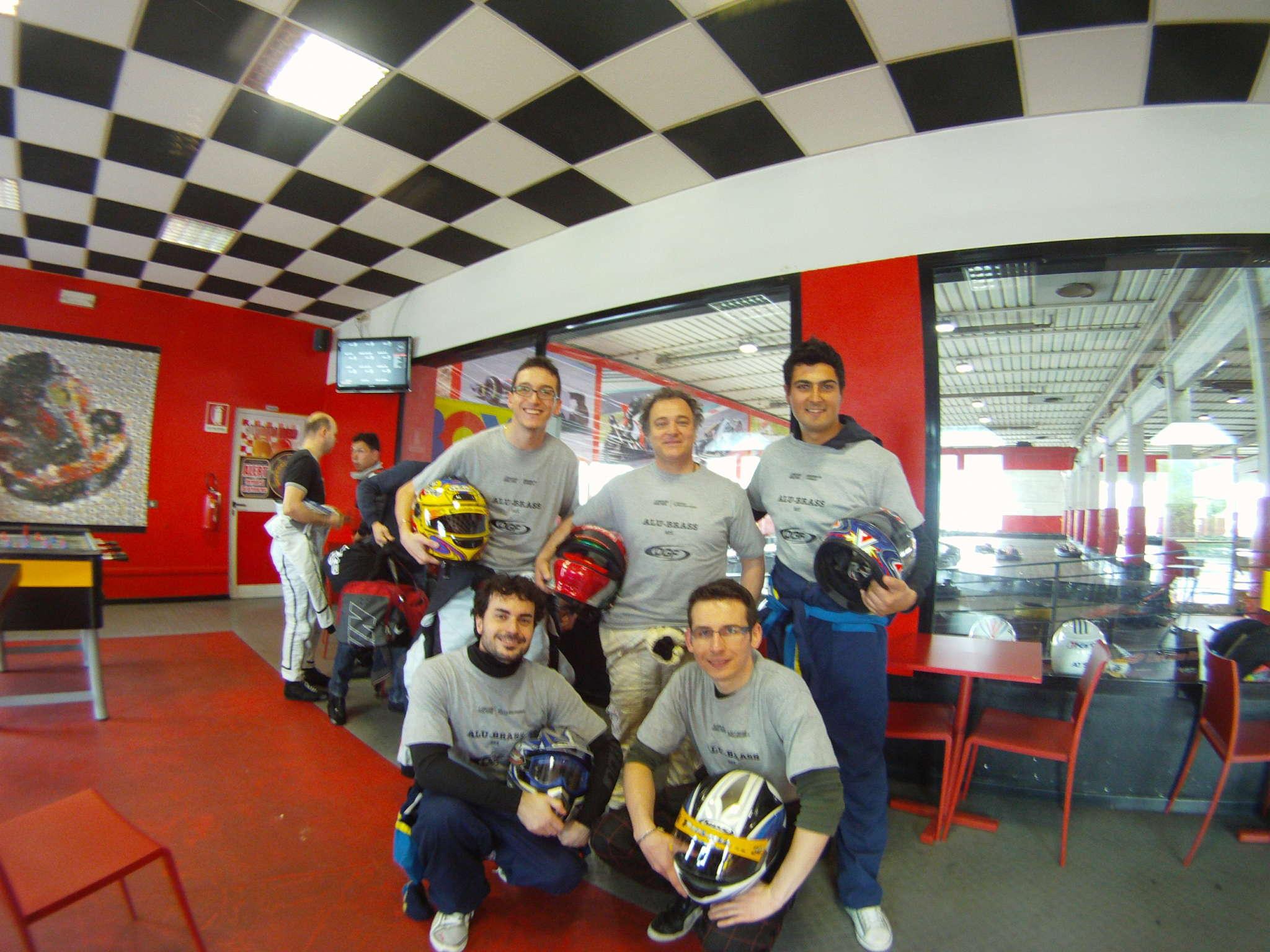Il team alla VKI Endurance Series 2012