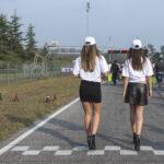 Grid girls - 500 miglia di Pomposa, 20 ottobre 2018