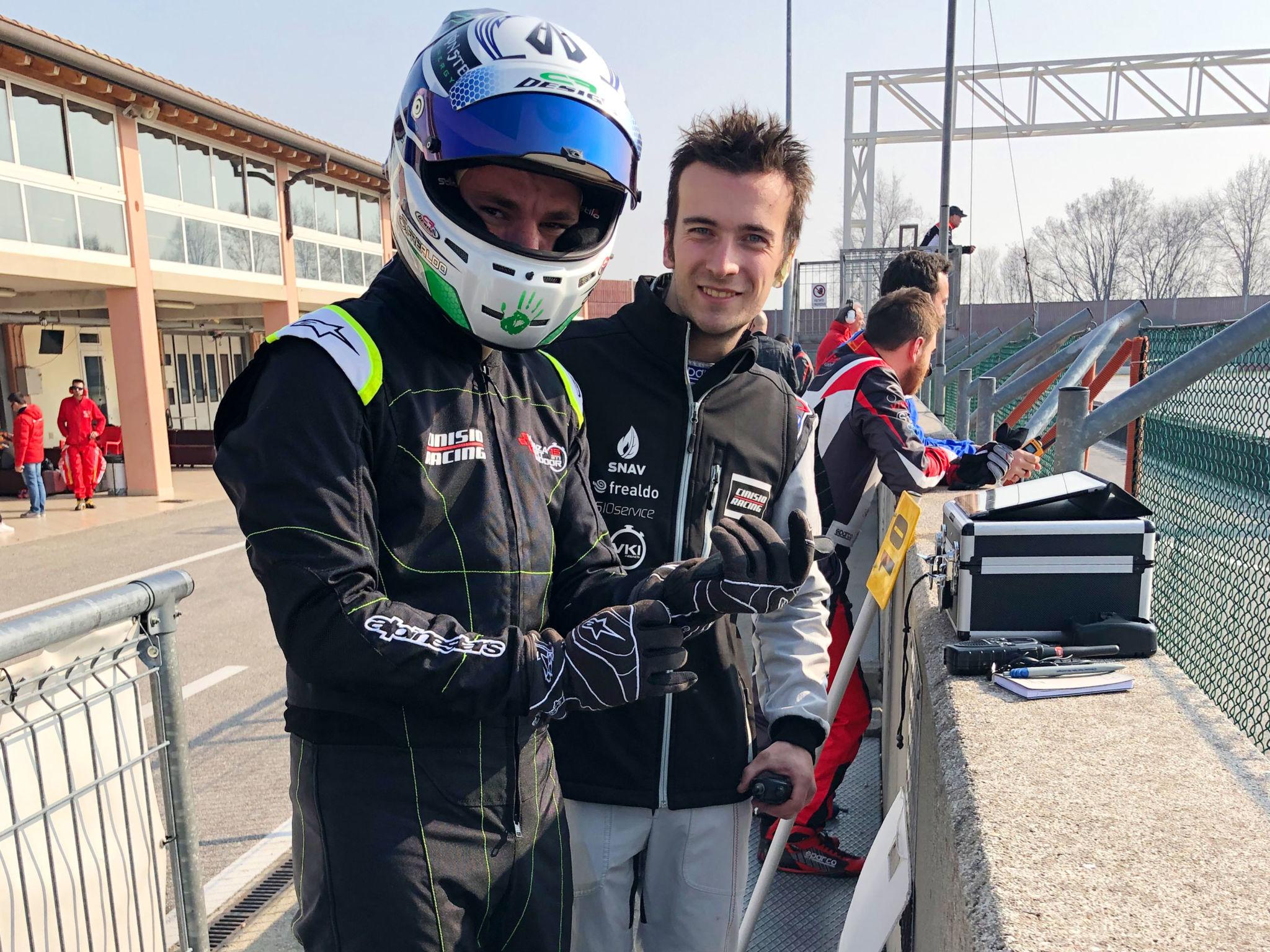 Simone e Marco- 6h Winter Trophy, 2 marzo 2019