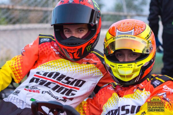 Marco Dal Pezzo e Marco Sinico - Pomposa Endurance Summer Series, 08 giugno 2019