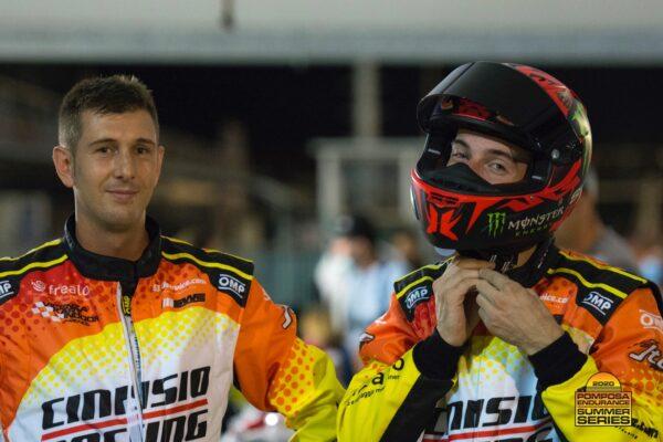 Andrea e Marco pronti per la competizione