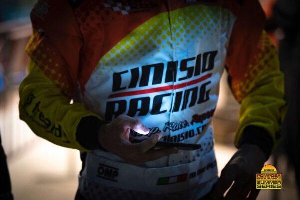 Marco al telefono - Pomposa Endurance Summer Series, 10 ottobre 2020