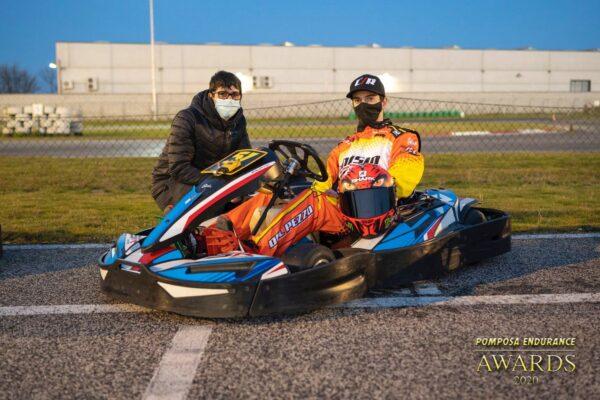 Marco Dal Pezzo e Mattia Mizzon in griglia di partenza
