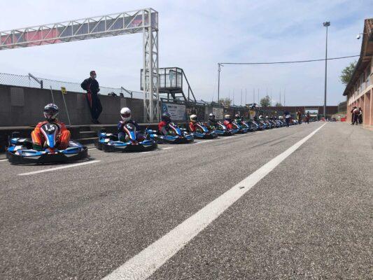 Giovanni pronto per le prove - Winter Cup - Lignano Circuit, 1 maggio 2021